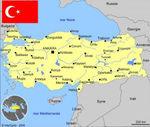 Carte Turquie
