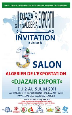 Invitation Salon visuel sponsors